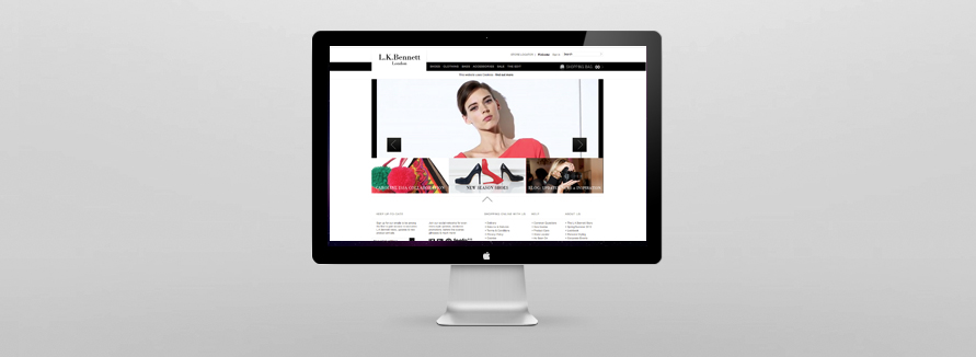 LK Bennett Website Development