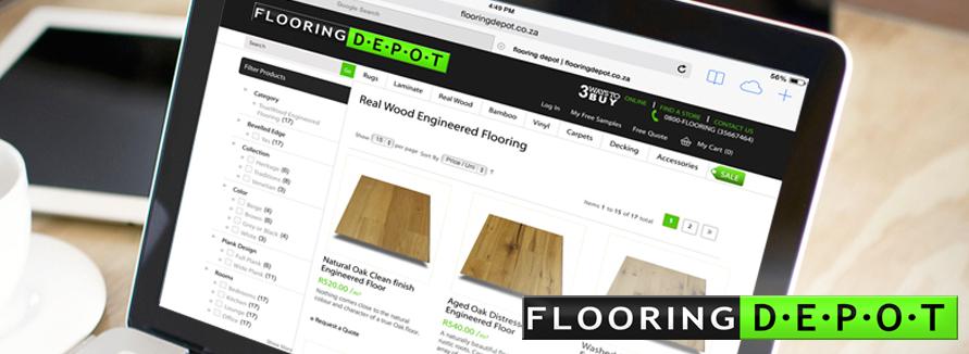 Flooring Depot Magento Development